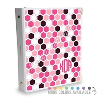 Signature KAD Sticker Binder - Hexagons
