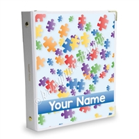 Signature KAD Sticker Binder - Puzzle Pieces