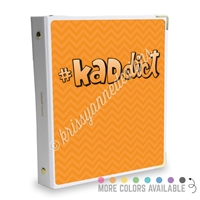 Signature KAD Sticker Binder - #KADdict