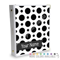 Signature KAD Sticker Binder - Polka Dots