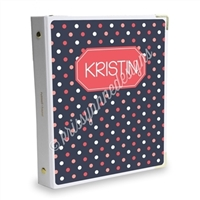 Signature KAD Sticker Binder - Small Dots