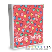 Signature KAD Sticker Binder - Planner Girl