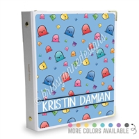 Signature KAD Sticker Binder - Happy Steve