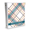 Signature KAD Sticker Binder - November Plaid