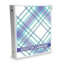 Signature KAD Sticker Binder - May Plaid