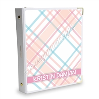Signature KAD Sticker Binder - June Plaid