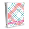 Signature KAD Sticker Binder - August Plaid