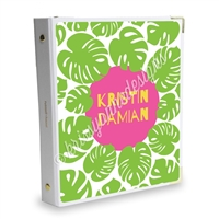 Signature KAD Sticker Binder - Summer Paradise Palms
