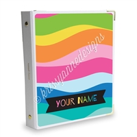 Signature KAD Sticker Binder - Summer Paradise Waves