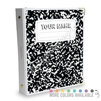 Signature KAD Sticker Binder - Composition Book
