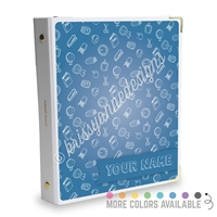 Signature KAD Sticker Binder - School is Cool
