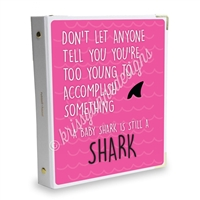 Signature KAD Sticker Binder - Baby Shark