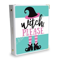 Signature KAD Sticker Binder - Witch Please