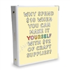 Signature KAD Sticker Binder - Why Spend $10