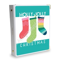 Signature KAD Sticker Binder - Holly Jolly Christmas