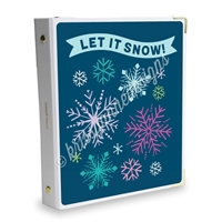 Signature KAD Sticker Binder - Winter Snow