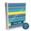 Signature KAD Sticker Binder - $2 Tuesday Stripes