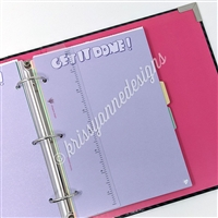 KAD Binder Bookmark - Silver Ruler