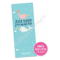 KAD Binder Page Lifter - Keep Swimming
