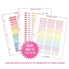 Binder Kit - Arrow Stickers