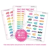 Binder Kit - KAD Exclusives Mini Kit 6 - Bold Planner Phrases