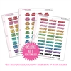 Binder Kit - KAD Exclusives 8 - Bold Puffy Planner Phrases
