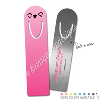 Planner Steve Metal Bookmark - Happy
