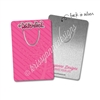 Rectangle Metal Bookmark - #KADdict