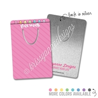 Rectangle Metal Bookmark - Pastel Happy Steve