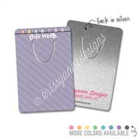 Rectangle Metal Bookmark - IWP Happy Steve
