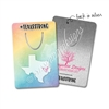 Rectangle Metal Bookmark - Texas Strong