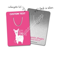 Personalized Rectangle Bookmark - Llive Llove Llama