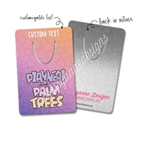 Personalized Metal Bookmark - Planners & Palm Trees