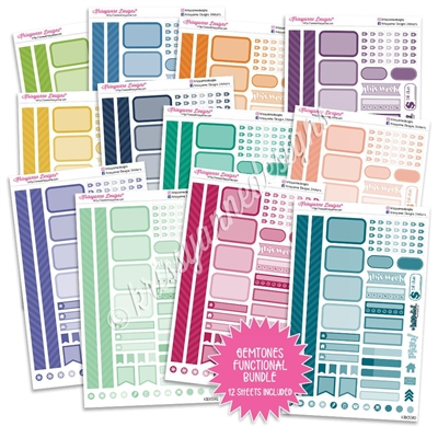 Monochrome Functional Sampler Bundle - Gemtones