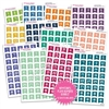 Monochrome Number Flag Bundle - Gemtones