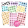 Transparent Mini Circles Bundle - Bold Rainbow