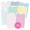 Transparent Mini Circles Bundle - Colorful