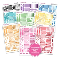 Monochrome Functional Sampler Bundle - Bold Rainbow