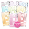 Monochrome Daily Duo Sampler Bundle - Pastel Rainbow