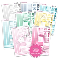 Monochrome Daily Duo Sampler Bundle - Colorful