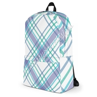 KAD Medium Backpack - May Plaid
