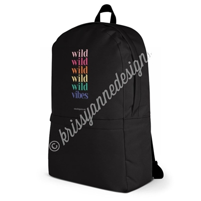 Medium Backpack - Wild Vibes