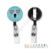 KAD Badge Reel - Heart Eye Steve