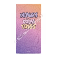 30x60 Towel - Planners & Palm Trees