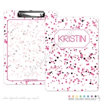 KAD Signature Clipboard - 9x12 - Multi-Colored Spots