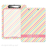 KAD Signature Clipboard - 9x12 - Candy Stripes