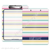 KAD Signature Clipboard - 9x12 - Stripes