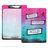 KAD Signature Clipboard - 9x12 - Keep Austin Wild