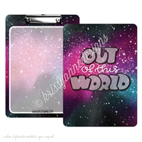KAD Signature Clipboard - 9x12 - Out of This World