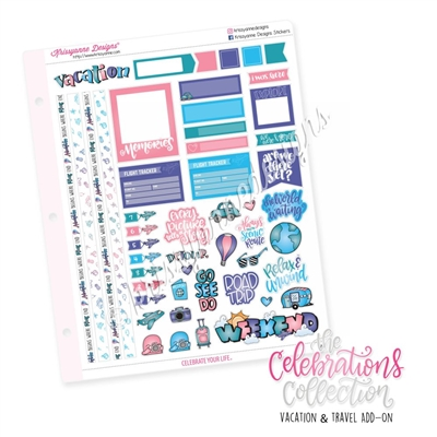 The 2019 Celebrations Collection Add-On: Vacation & Travel